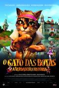 Poster de «O Gato das Botas - A Verdadeira História (V.P.)»