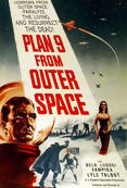 Poster de «Plan 9 from outer space»