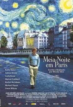 Poster de «Meia-Noite em Paris»
