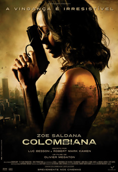 Poster de «Colombiana»