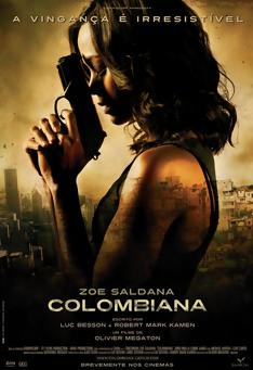 Poster de «Colombiana»