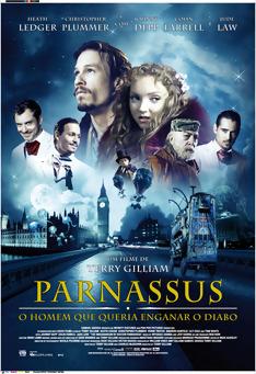 Poster de «Parnassus - O Homem que queria enganar o Diabo»