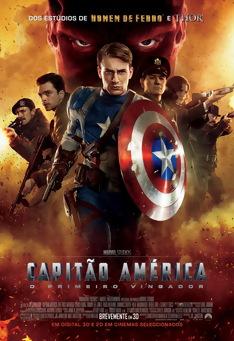 Poster de «Capitão América: O Primeiro Vingador»