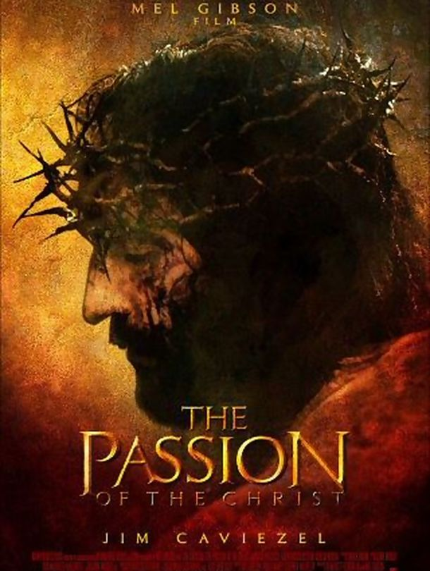 Poster do filme A Paixão de Cristo