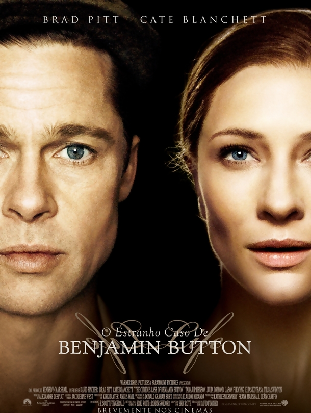 Poster do filme O Estranho Caso de Benjamin Button