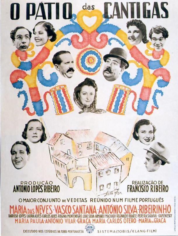 Poster do filme O Pátio das Cantigas