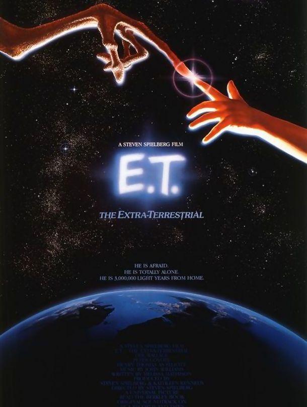 Poster do filme E.T. - O Extra-Terrestre