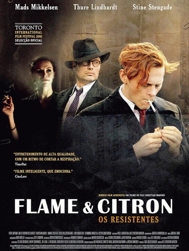 Poster do filme Flame & Citron - Os Resistentes