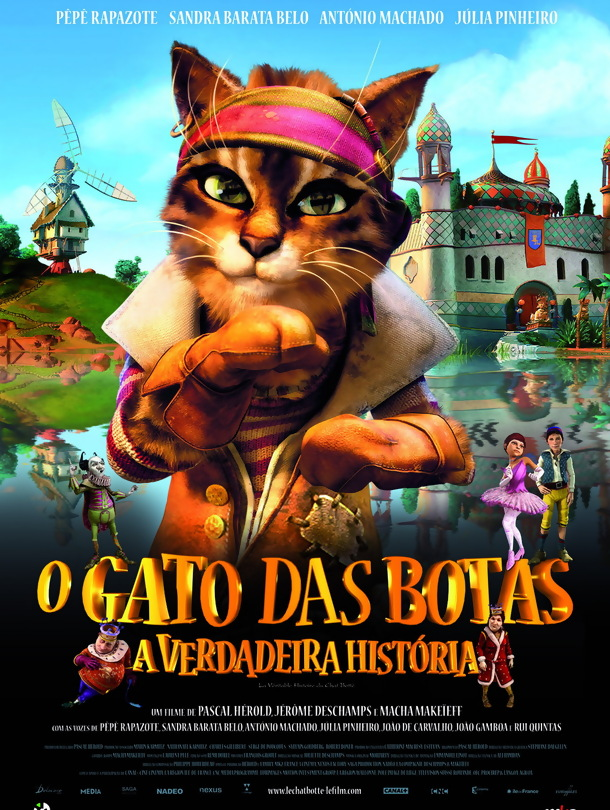 A Verdadeira Historia Do Gato De Botas ? Dublado [ movie ...