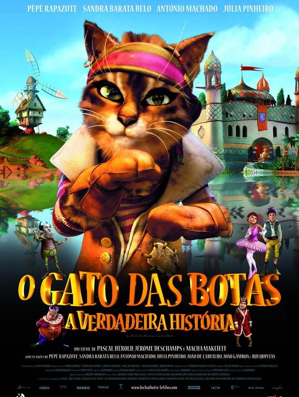 Poster do filme O Gato das Botas - A Verdadeira História