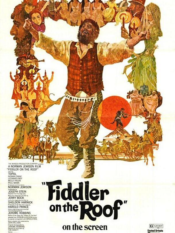 Poster do filme Um Violino no Telhado