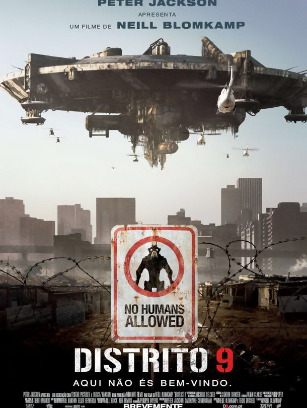 Poster do filme Distrito 9