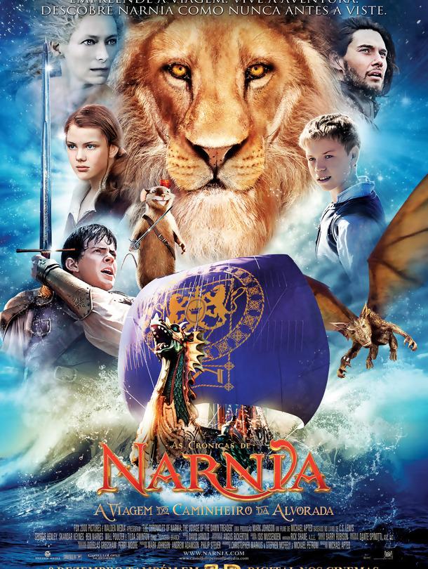 As Crónicas de Nárnia: A Viagem do Caminheiro da Alvorada – Legendado