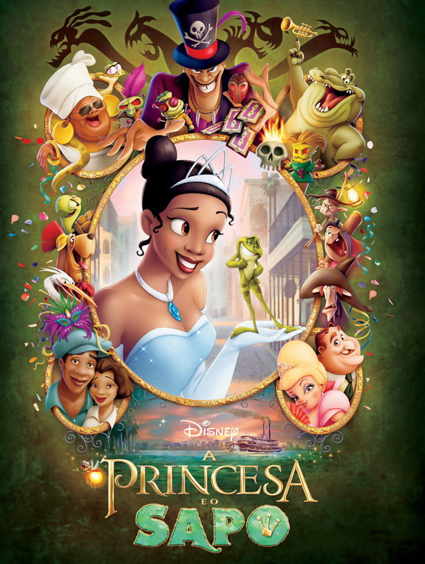 Poster do filme A Princesa e o Sapo