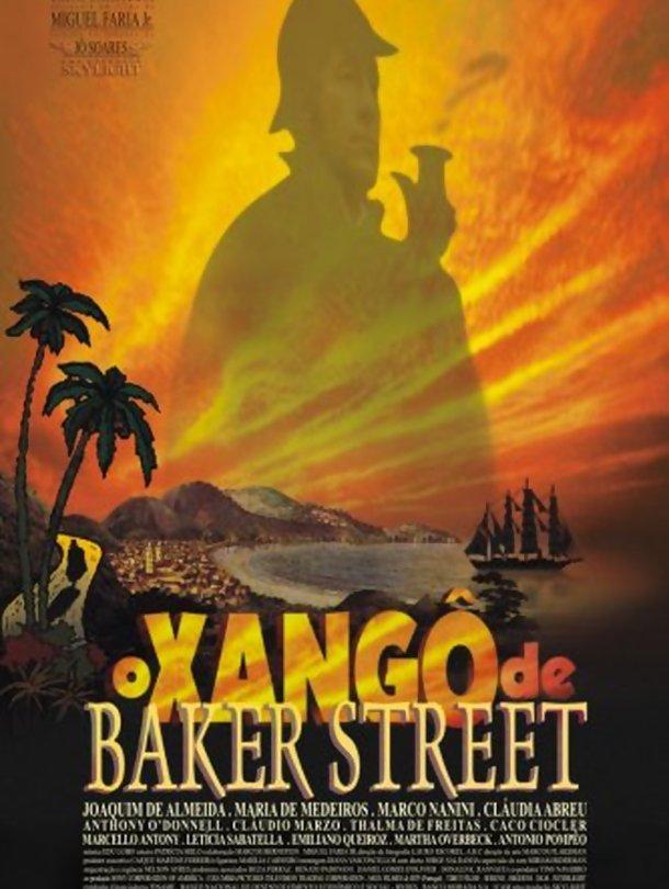 Poster do filme O Xangô de Baker Street
