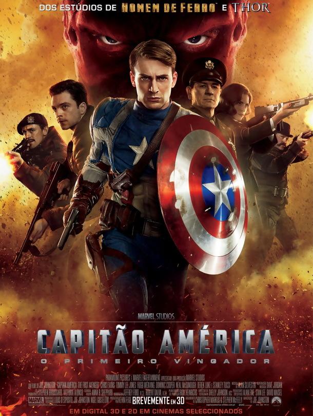 Capitão América: O Primeiro Vingador – Legendado