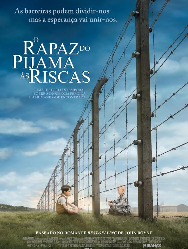 Poster do filme O Rapaz do Pijama às Riscas