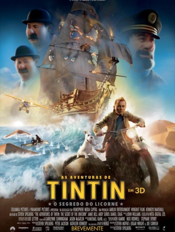 As Aventuras de Tintin: O Segredo do Licorne – Dobrado