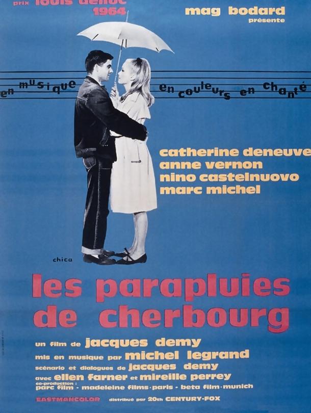 Poster do filme Os Chapéus de Chuva de Cherburgo