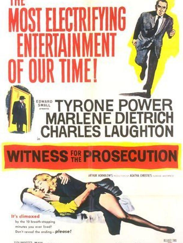 Poster do filme Testemunha de Acusação