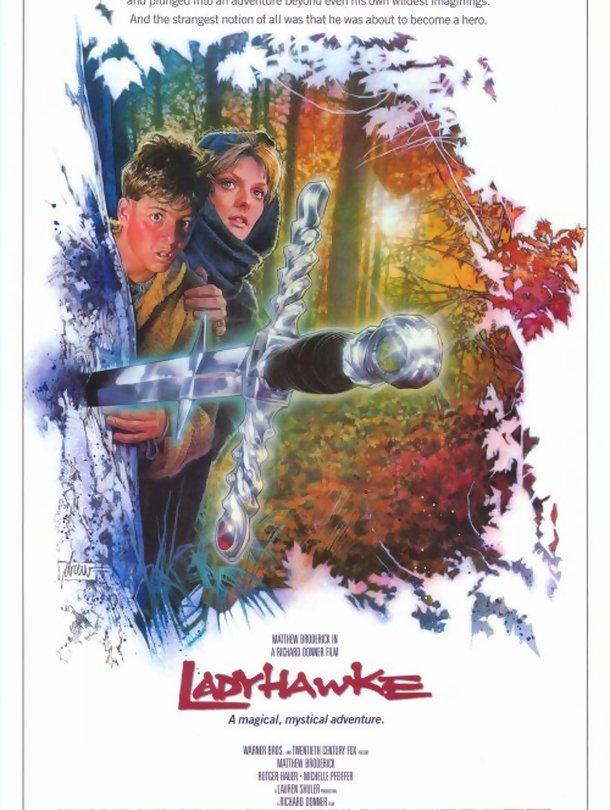 Poster do filme A Mulher Falcão
