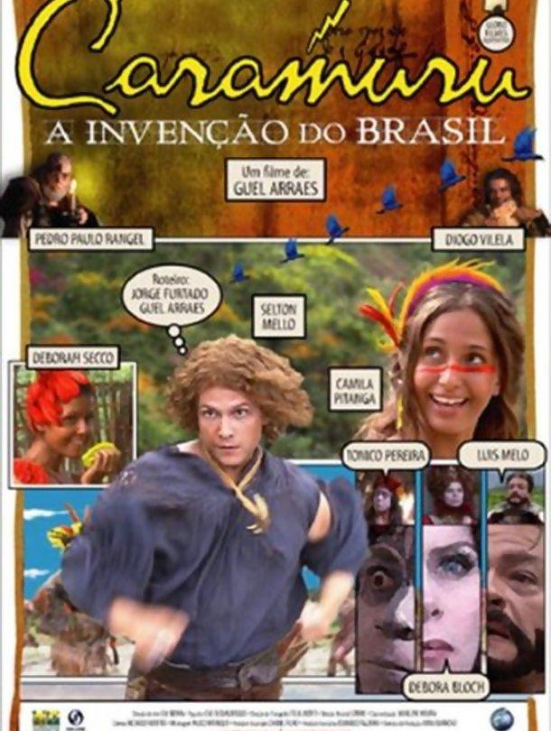 Poster do filme Caramuru a invenção do Brasil